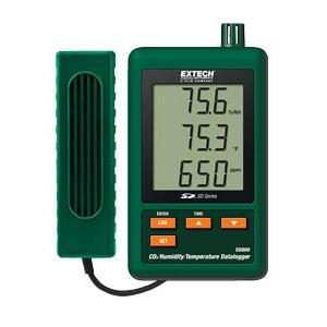 Extech SD800 Datalogger for CO2 Humidity Temperature