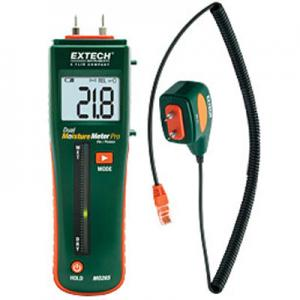 Extech MO265 Pin No Pins Moisture Content Meter for Building Materials
