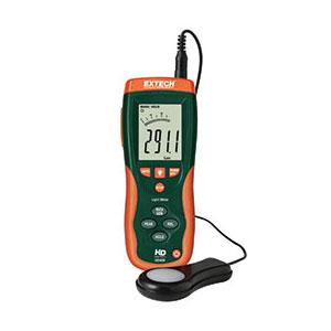 Extech HD450-NIST Handheld Light Meter and Data Logger