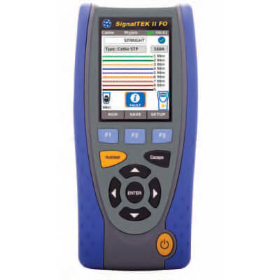 Ideal Industries R156000 SignalTEK II Advanced Voice Data Video Cable Tester