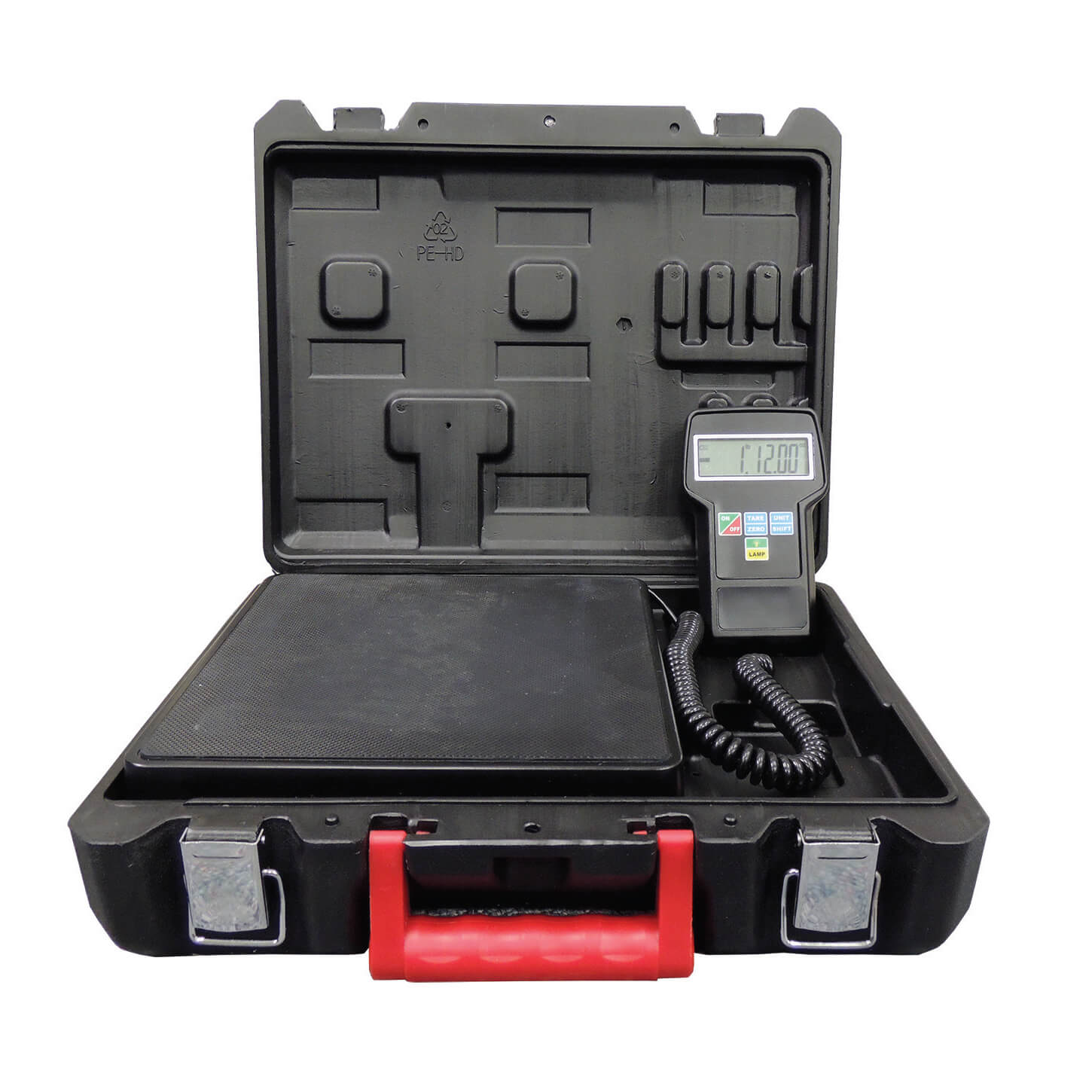 Supco RCS220 HVAC Refrigerant Charging Scale with Case