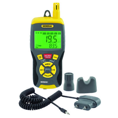 General Tools RHMG650 Handheld Digital Moisture Meter