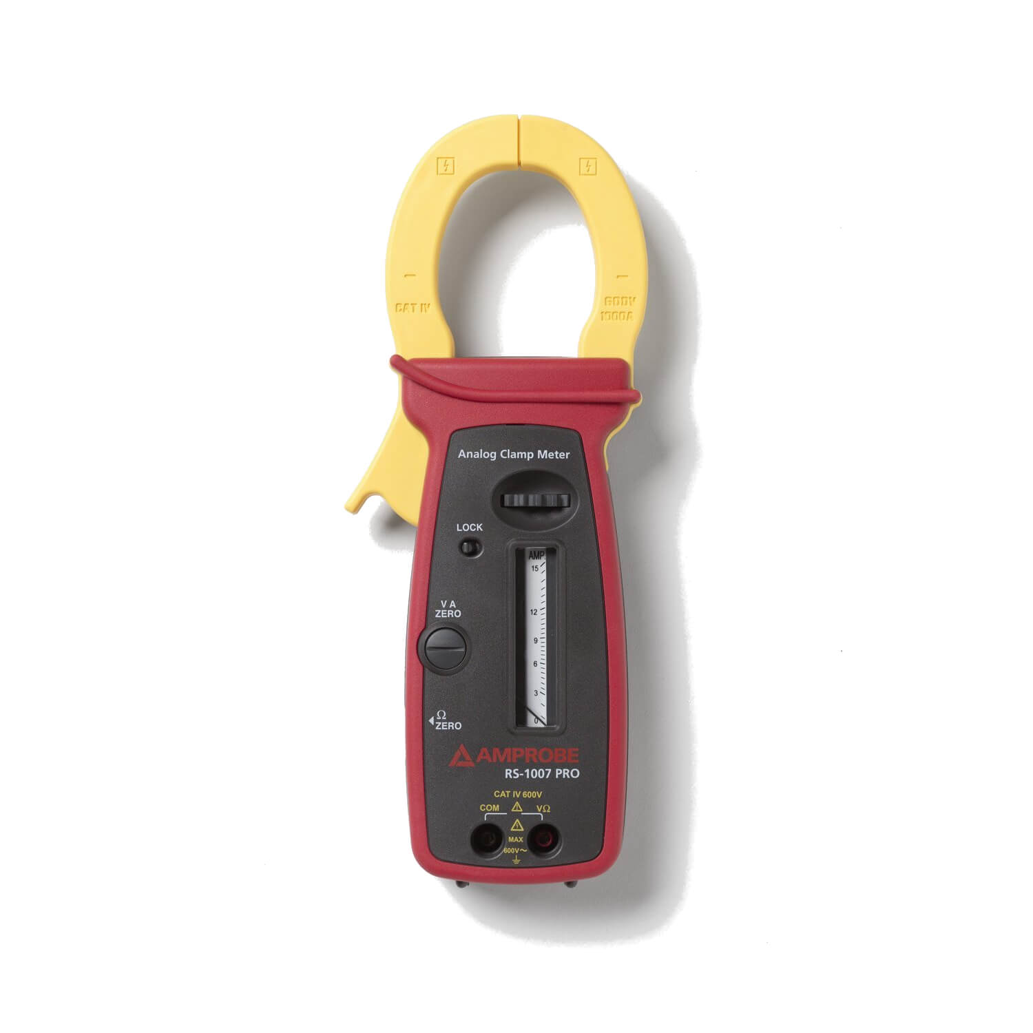 Amprobe RS-1007 PRO CAT IV Rated Analog Clamp Meter 1000A