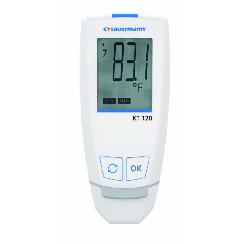 Sauermann KT120 Temperature USB Datalogger with 50000 Data Points