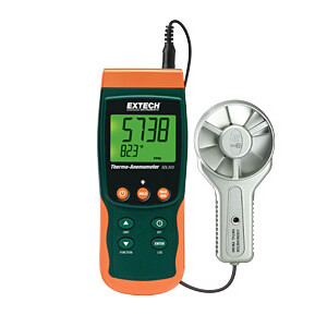 Extech SDL300 Datalogging Metal Vane Thermo-Anemometer