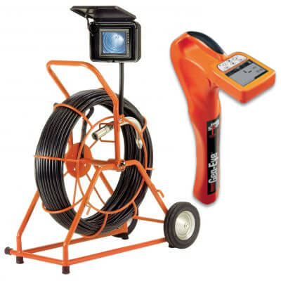 Gen-Eye POD C-GP-F-2 Pipe Inspection Camera with G3-100 Locator