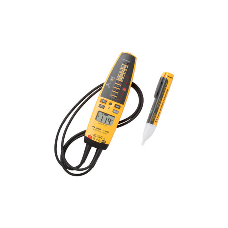 Fluke T-PlusPRO-1AC KIT Electrical Tester and NCV Detector Kit