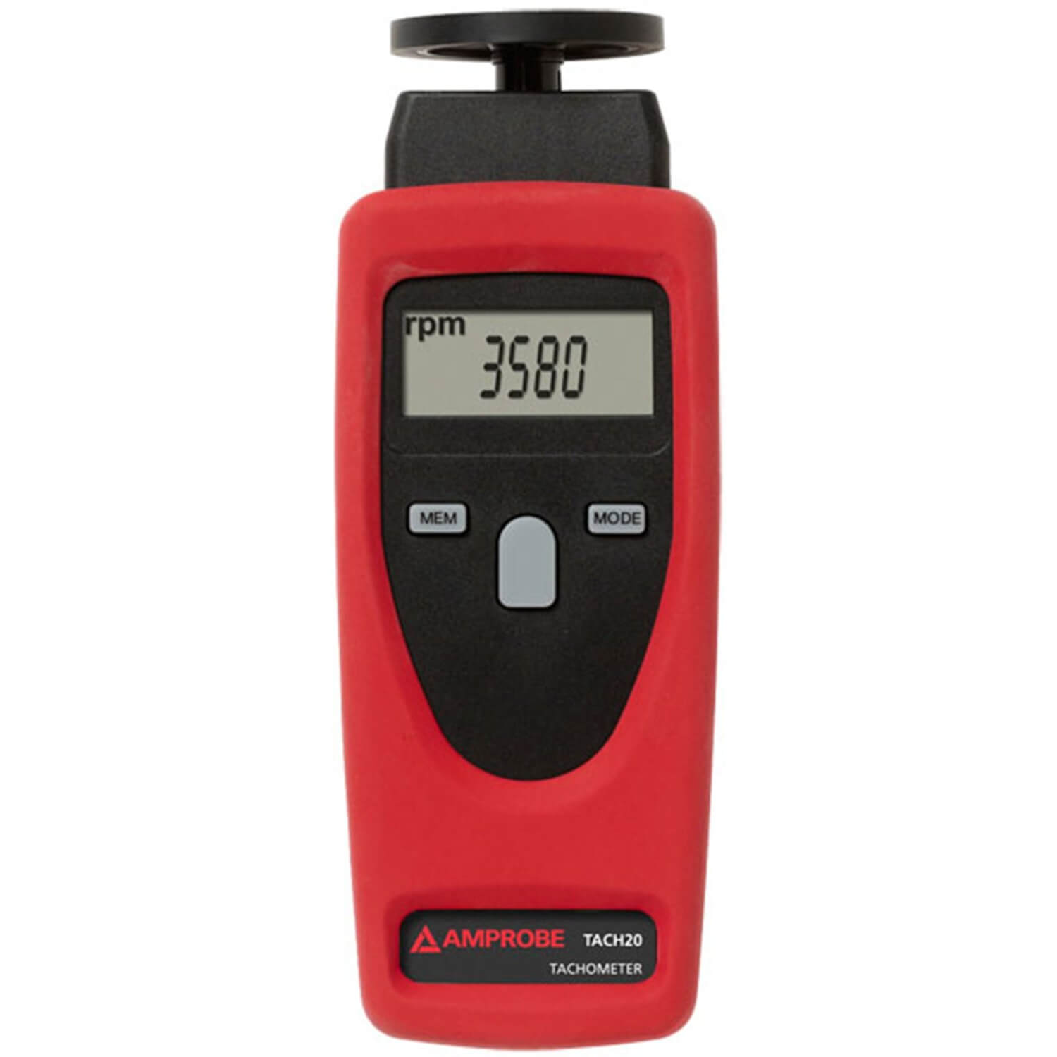 Amprobe TACH20 Contact and Non Contact Tachometer Handheld