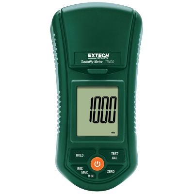 Extech TB400 Compact Digital Turbidity Meter for Water Quality Testing