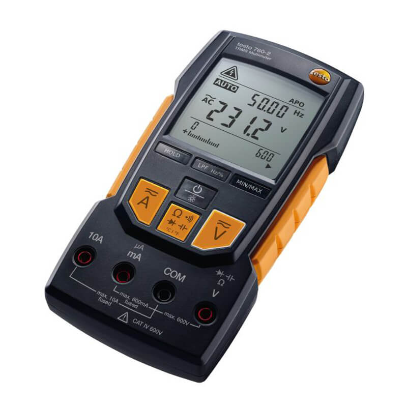 Testo 760-2 TRMS Multimeter Auto Ranging