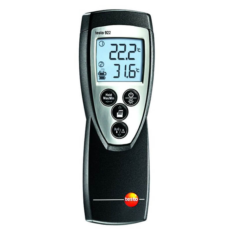 Testo 922 Dual Type K Thermometer Wireless Kit 0560 9221