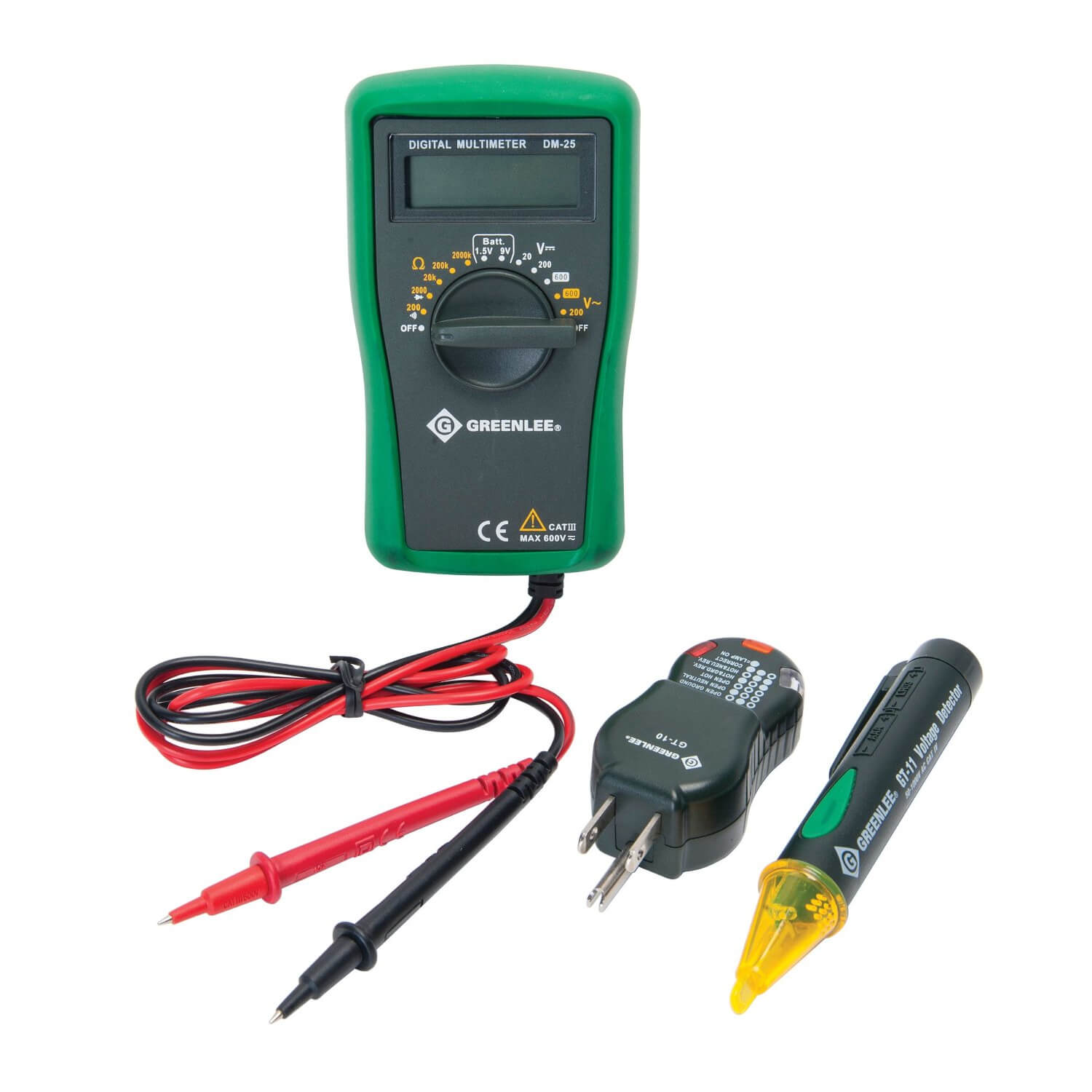 Greenlee TK-30A Basic Electrical Test Kit