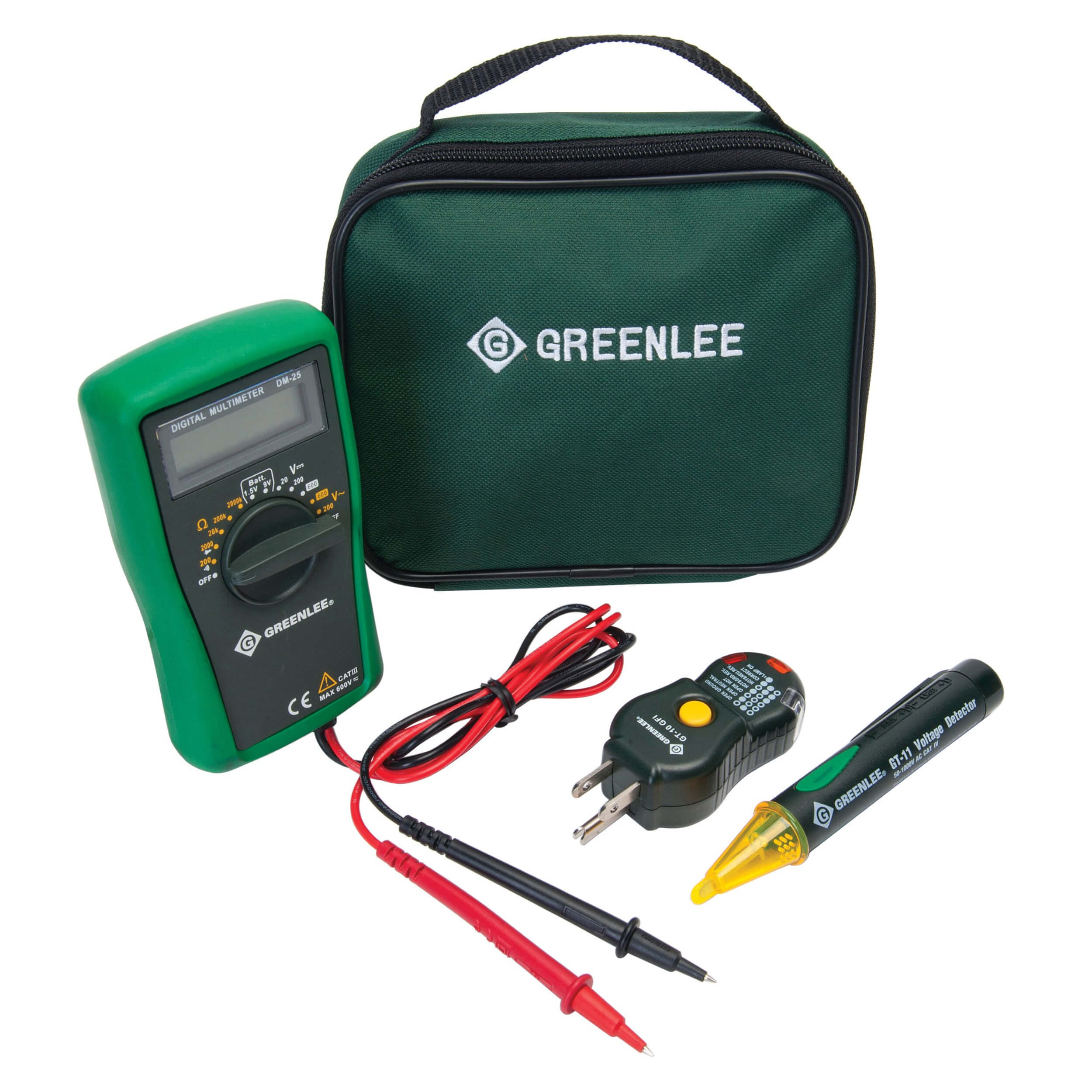 Greenlee TK-30AGFI Electrical Test Kit GFCI