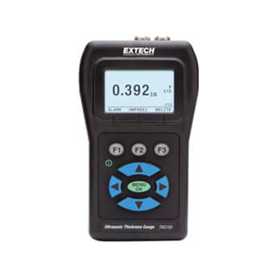 Extech TKG100 Digital Handheld Ultrasonic Thickness Gauge