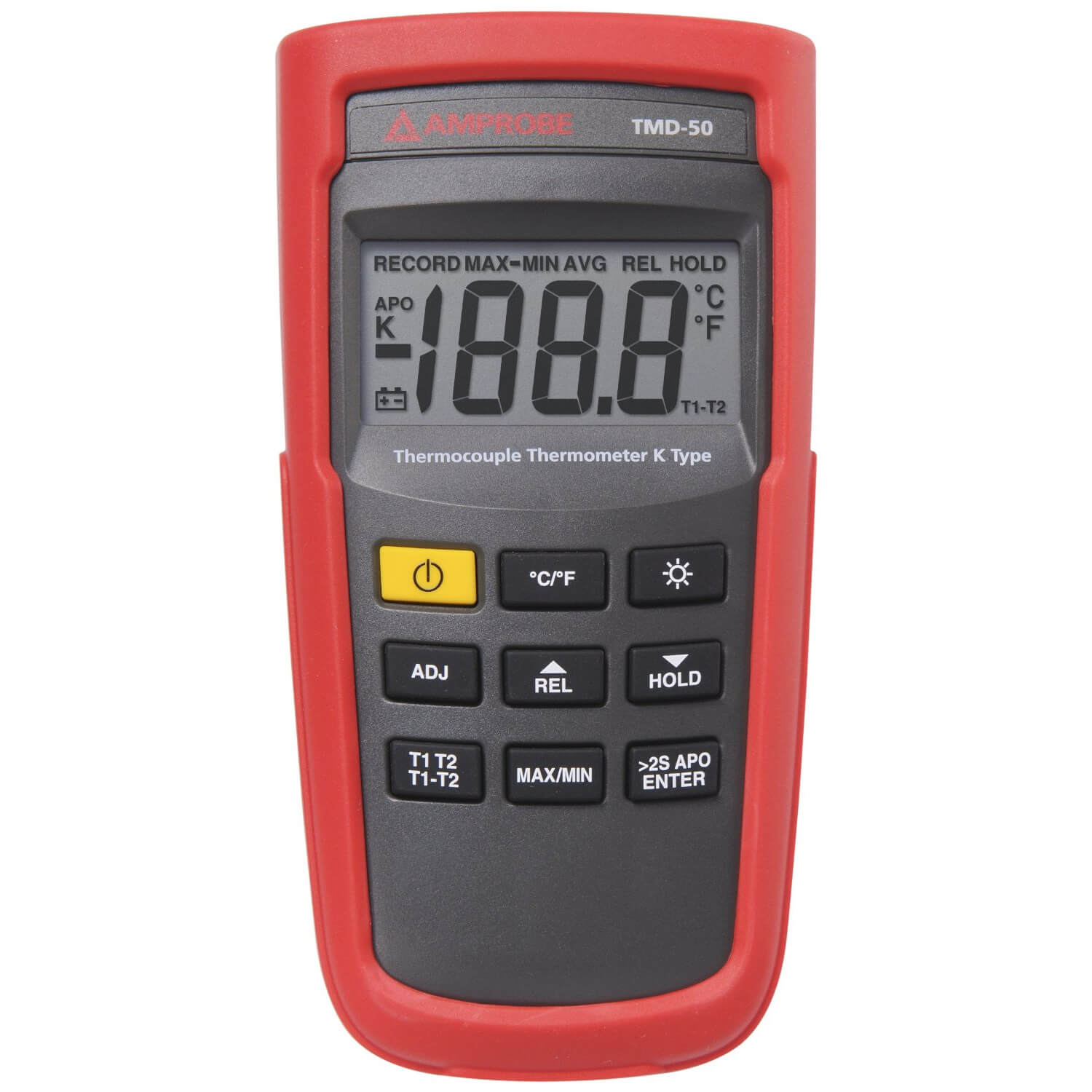 Amprobe TMD-50 Digital Handheld Thermocouple Thermometer