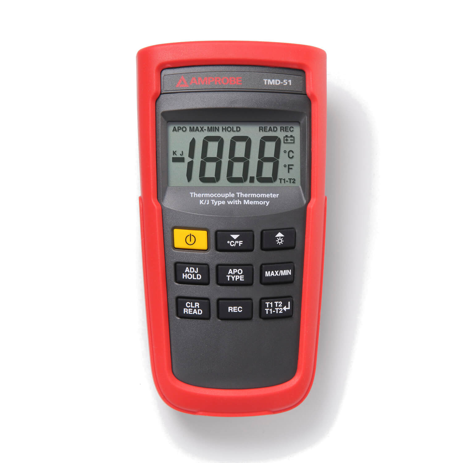 Amprobe TMD-51 Digital Handheld Thermocouple Thermometer