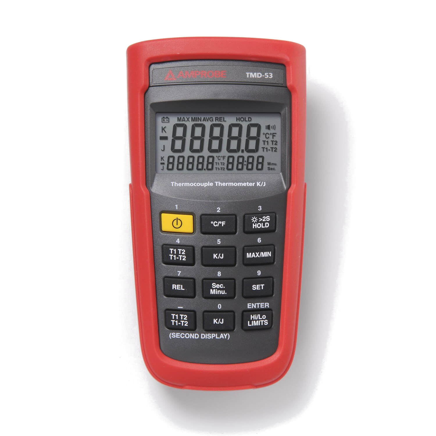 Amprobe TMD-53 Digital J-Type or K-Type Thermometer