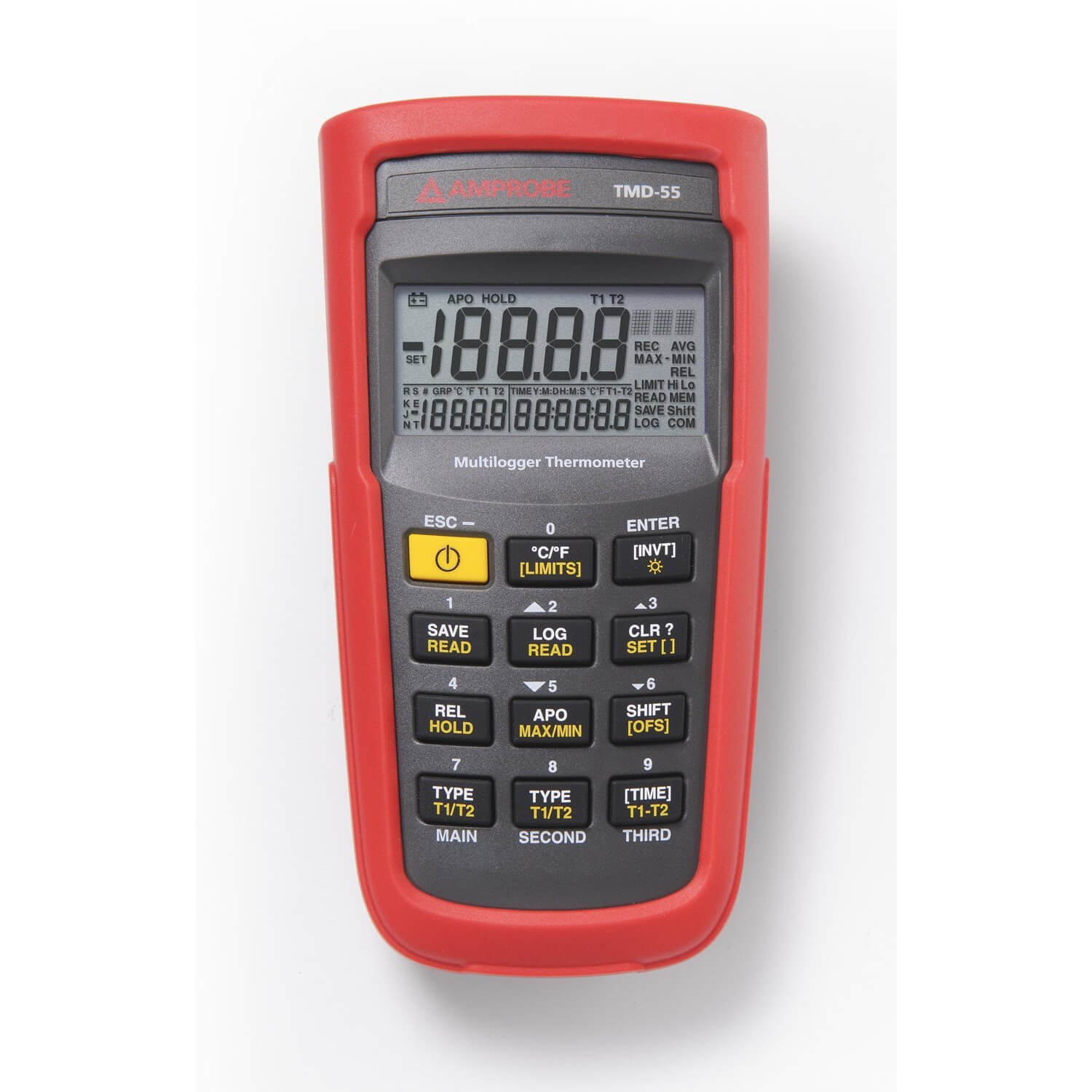 Amprobe TMD-55 Thermocouple Multilogger Thermometer