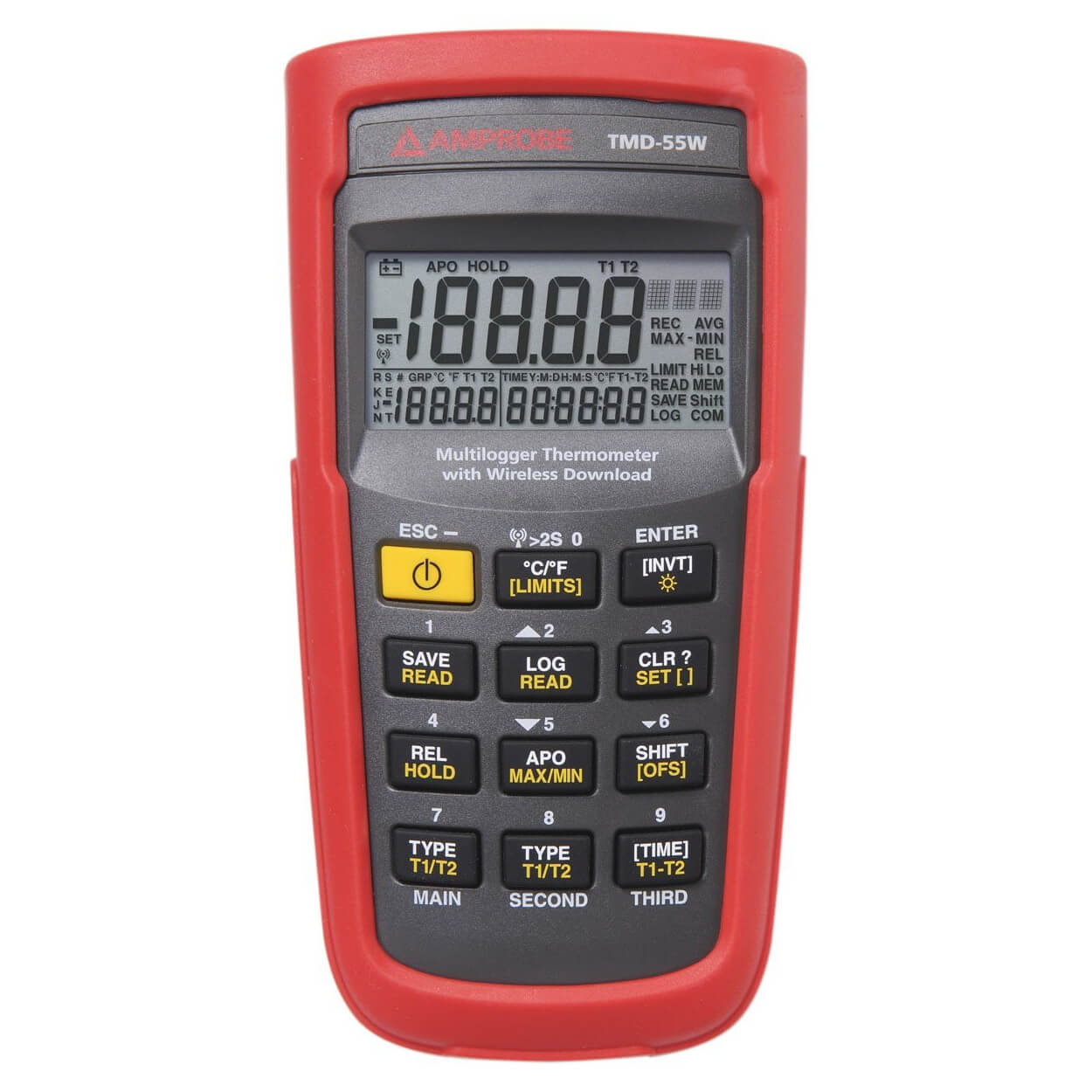 Amprobe TMD-55W Thermocouple Multilogger Thermometer