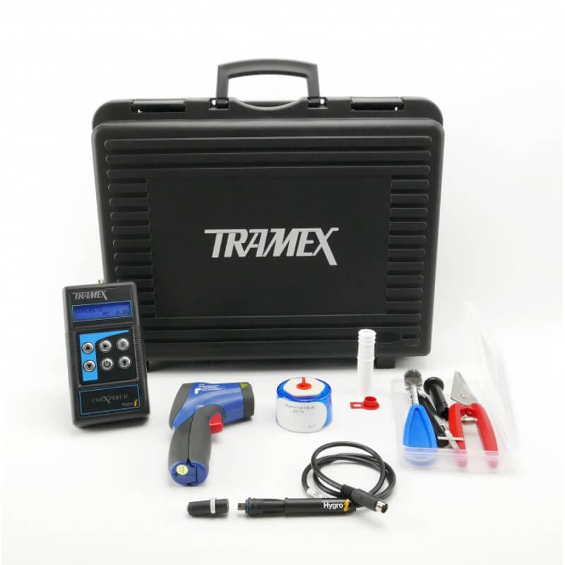 Tramex CIK5.1 Concrete Inspection Kit CMEX2 with RH Probes and Accessories