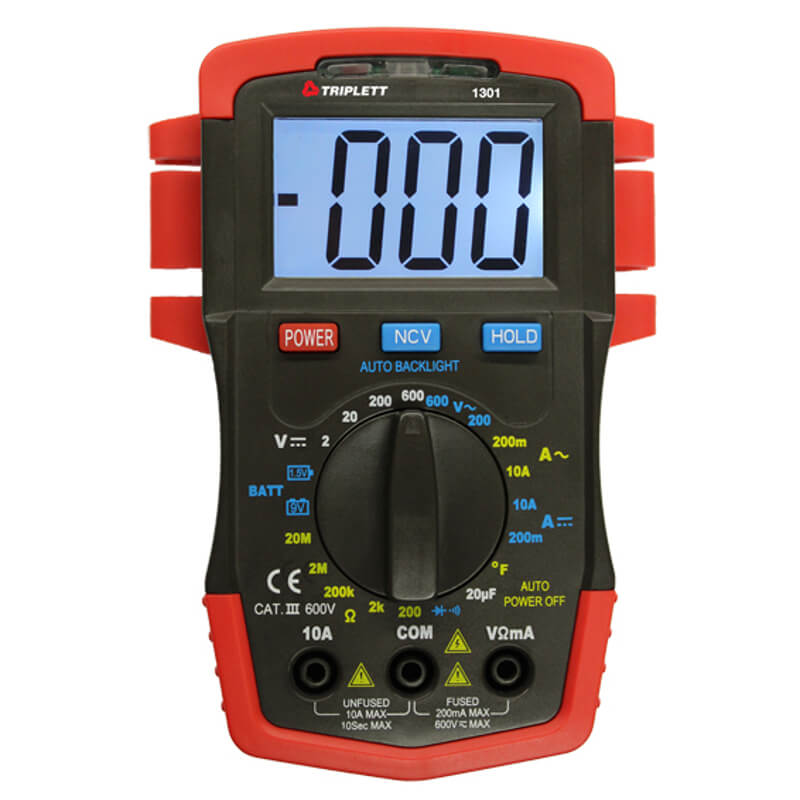 Triplett 1301 Handheld Compact Digital Multimeter
