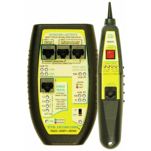 Byte Brothers TVR10/100/1000K LAN Cable Tester and Link Verifier