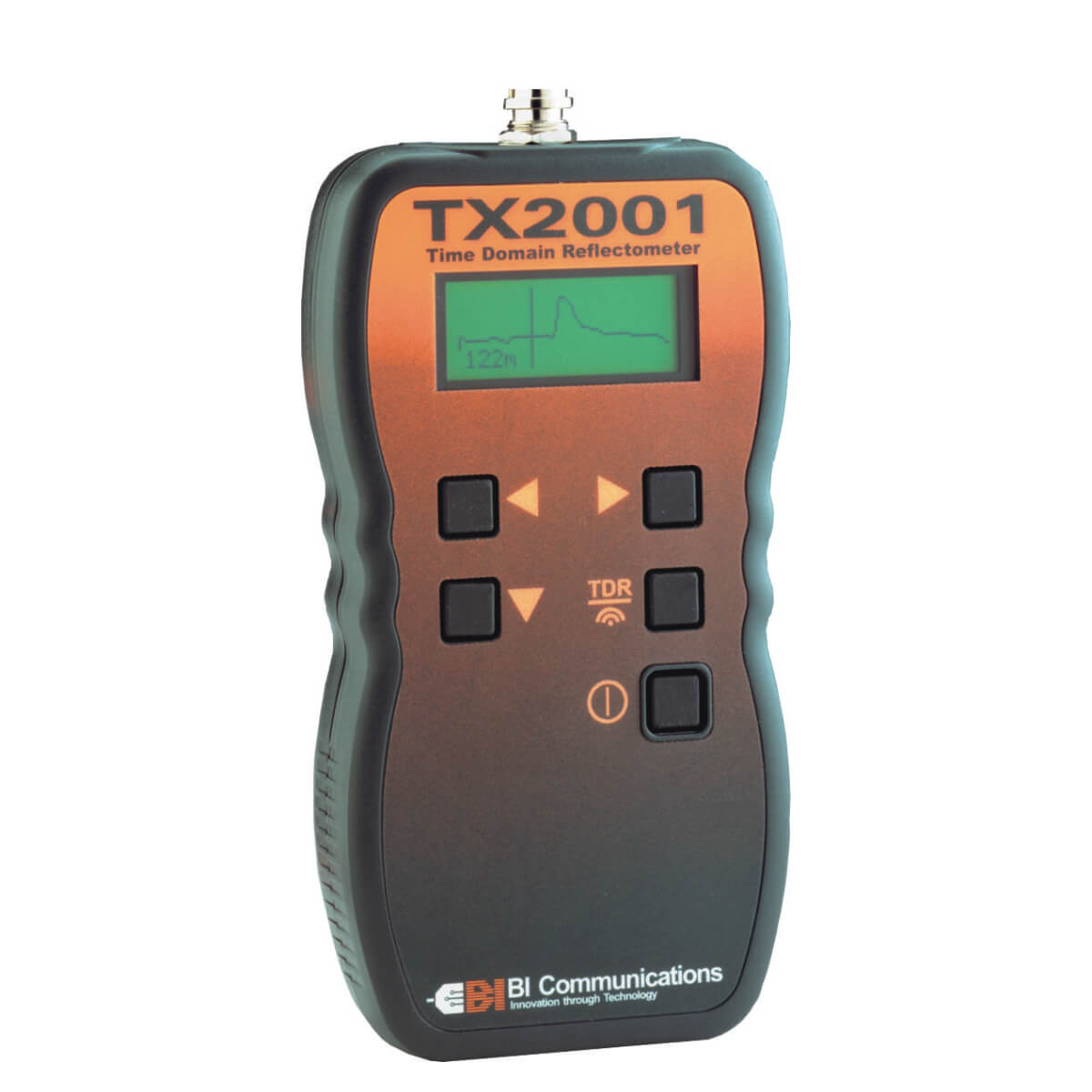 BI Communications TX2001 Handheld TDR Cable Fault Tester