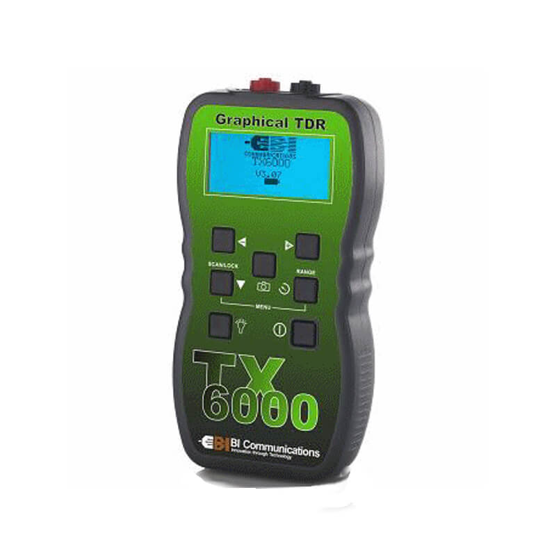 BI Communications TX6000 Handheld TDR Cable Fault Tester