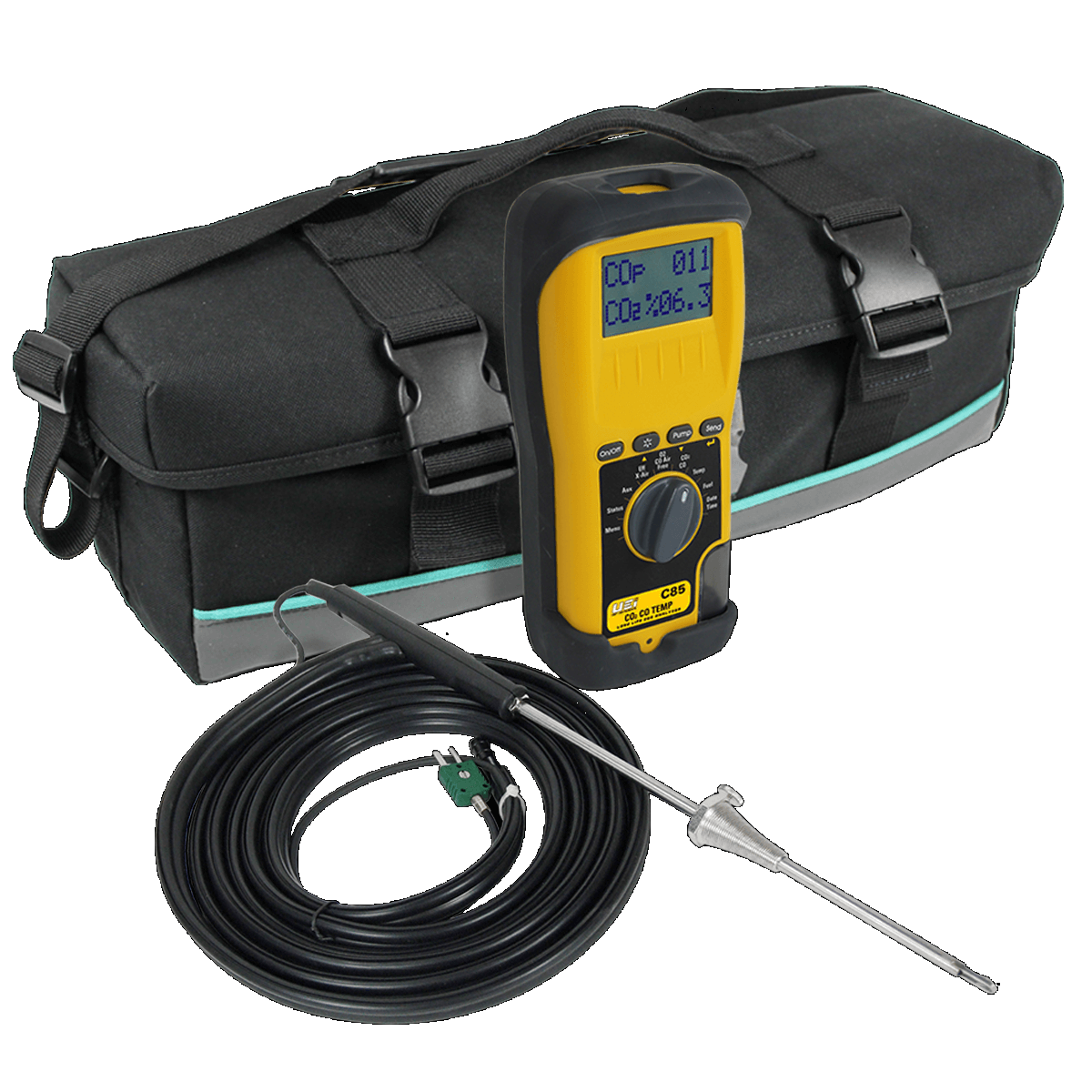 UEi C85 Combustion Analyzer with Long Lasting EOS Technology [Free 2nd Shipping]