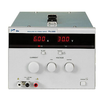 UniSource PS-3060 DC Power Supply | ValueTesters com