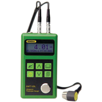 General Tools UTEGEMTT2 Digital Handheld Ultrasonic Thickness Gauge