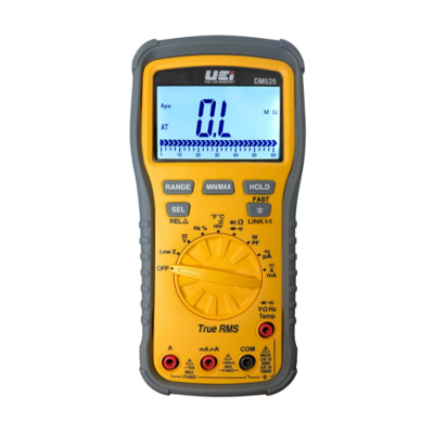 UEI DM525 TRMS 1000V Industrial Wireless Multimeter with Power Factor