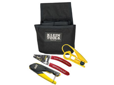 Klein Tools VDV012-811 Coax Installation Basic Set with F-Connectors