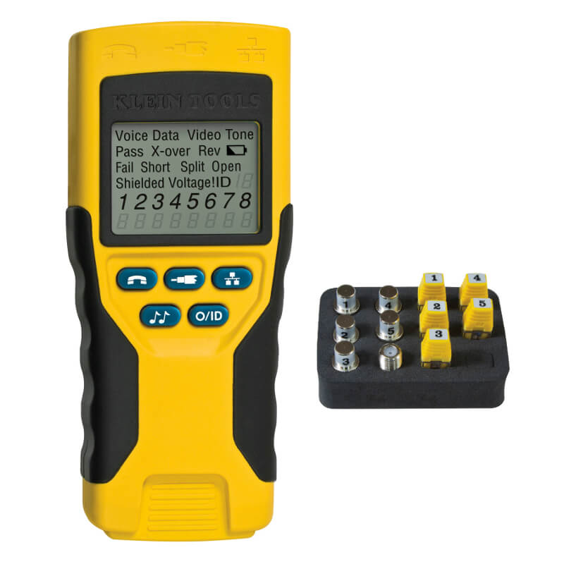 Klein Tools VDV501-823 VDV Scout Pro 2 Cable Wiremap and Fault Tester