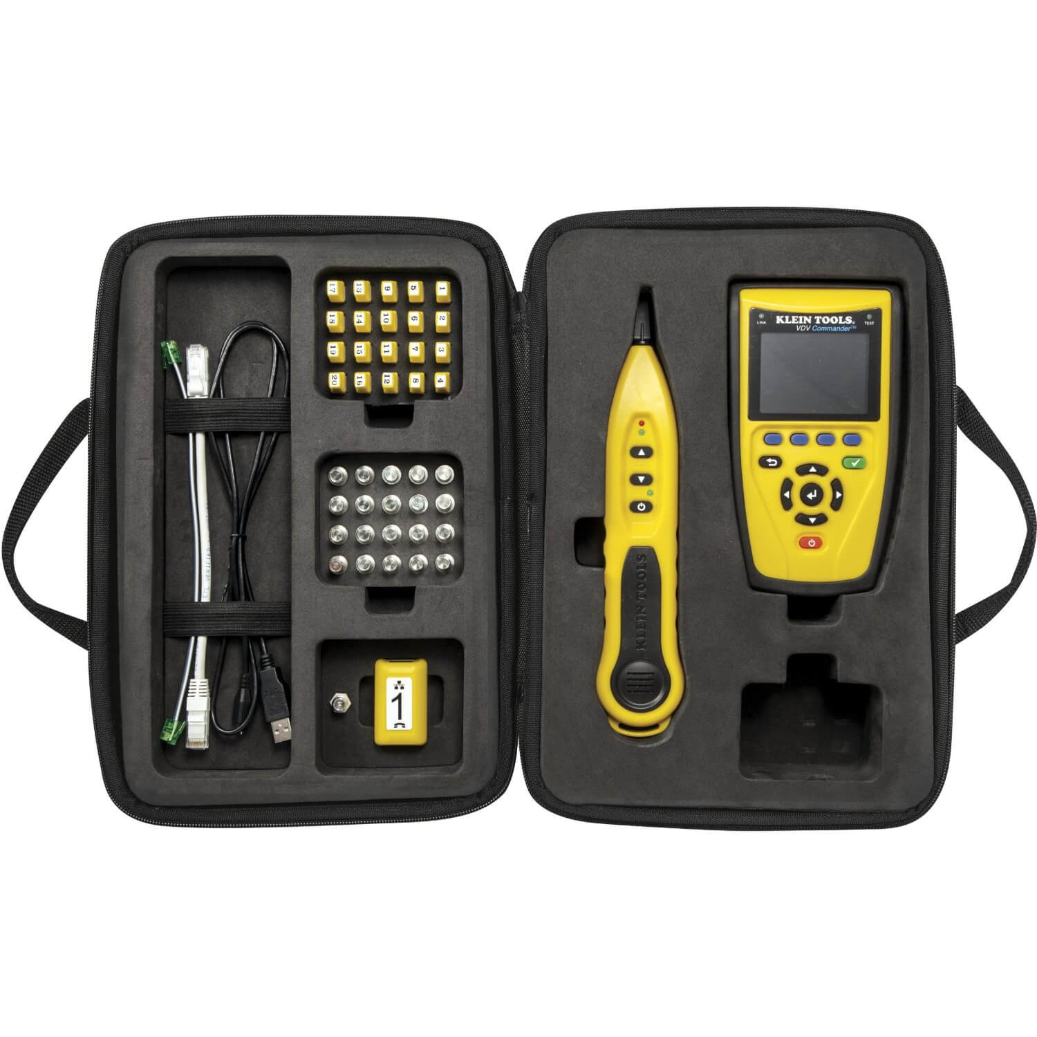 Klein Tools VDV501-829 VDV Commander Testing and Tone Kit
