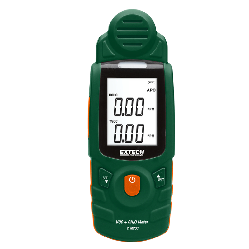 Extech VFM200 VOC and Formaldehyde Meter with Alarm