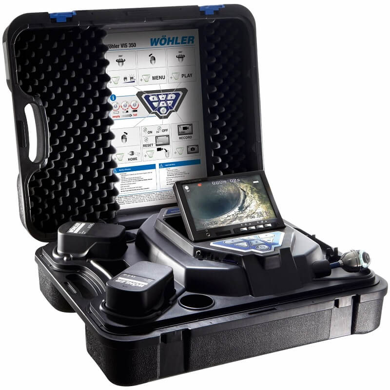 Wohler VIS 350 Visual Inspection Camera System Multipurpose Kit 7354