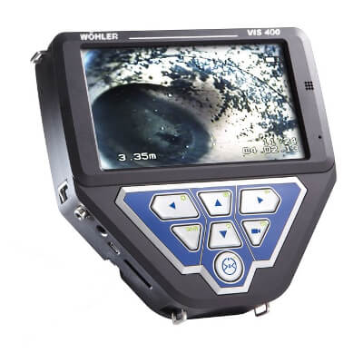 Wohler VIS 400 Visual Inspection Camera System Monitor Only 4151