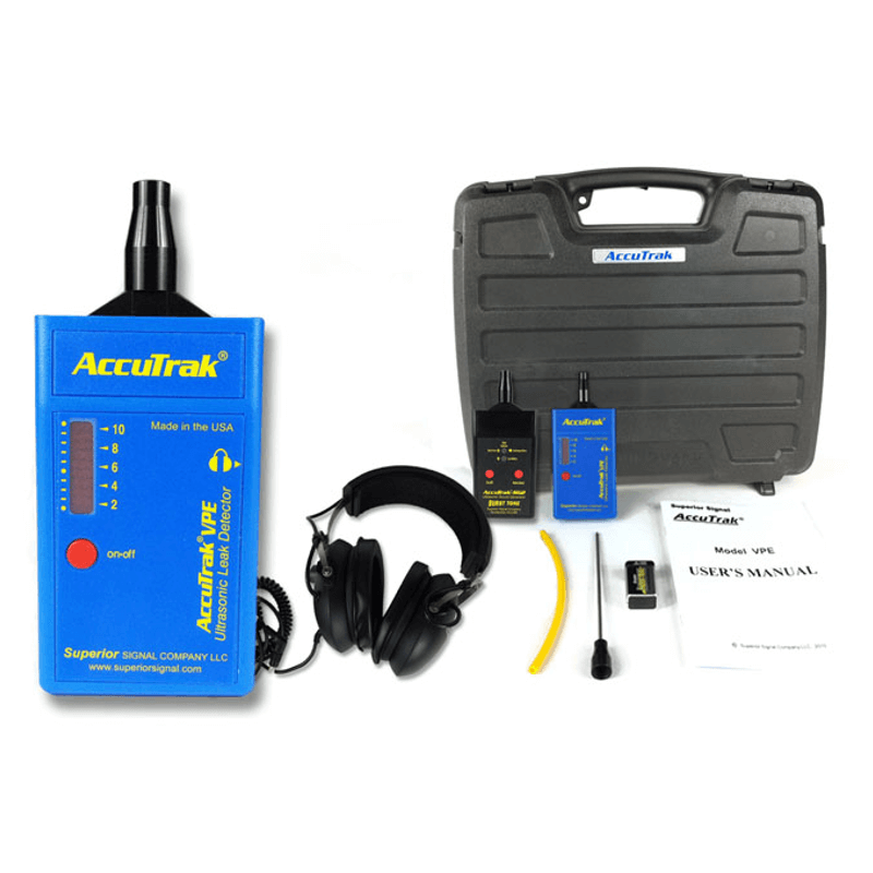 Superior AccuTrak VPE Ultrasonic Leak Detector Pro Plus Kit