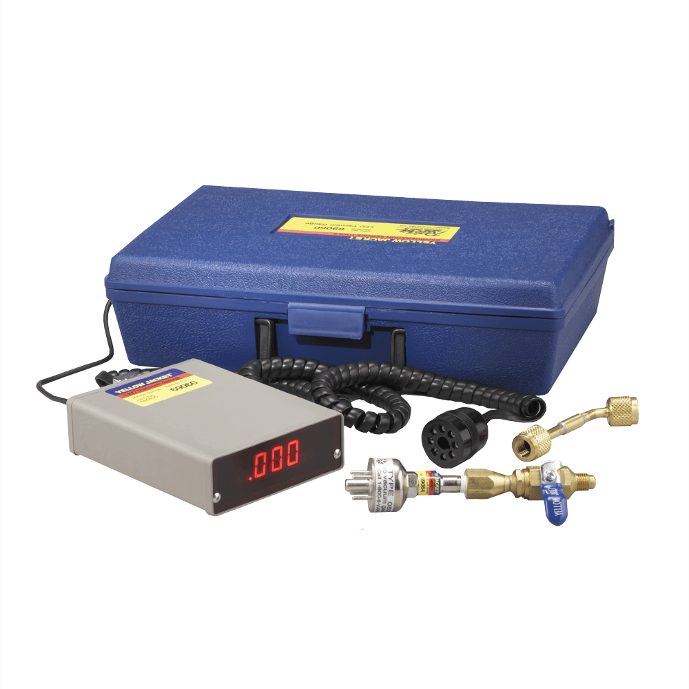 Yellow Jacket 69060 Deluxe Electronic Vacuum Gauge with LED