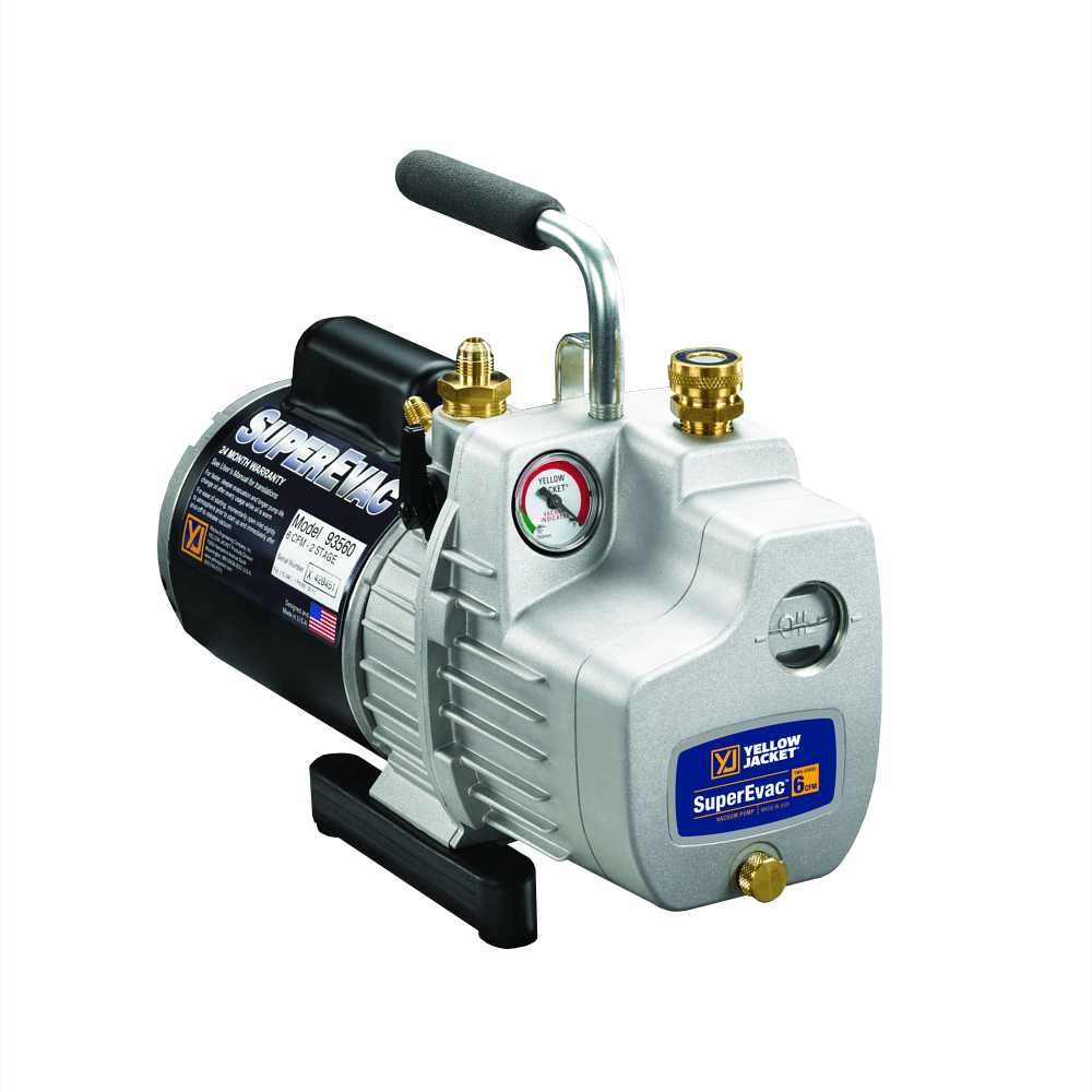 Yellow Jacket 93590 SuperEvac-11 Deluxe AC Vacuum Pump