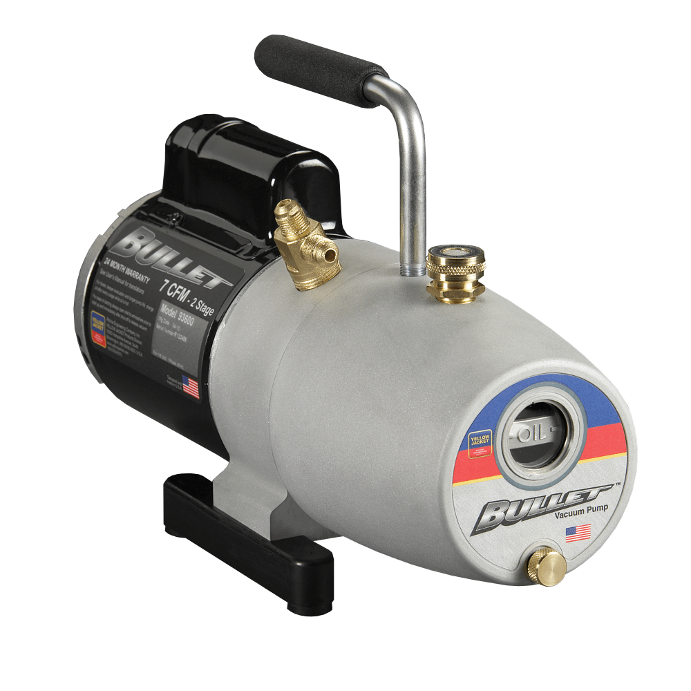 Yellow Jacket 93603 3CFM Vacuum Pump Bullet Series