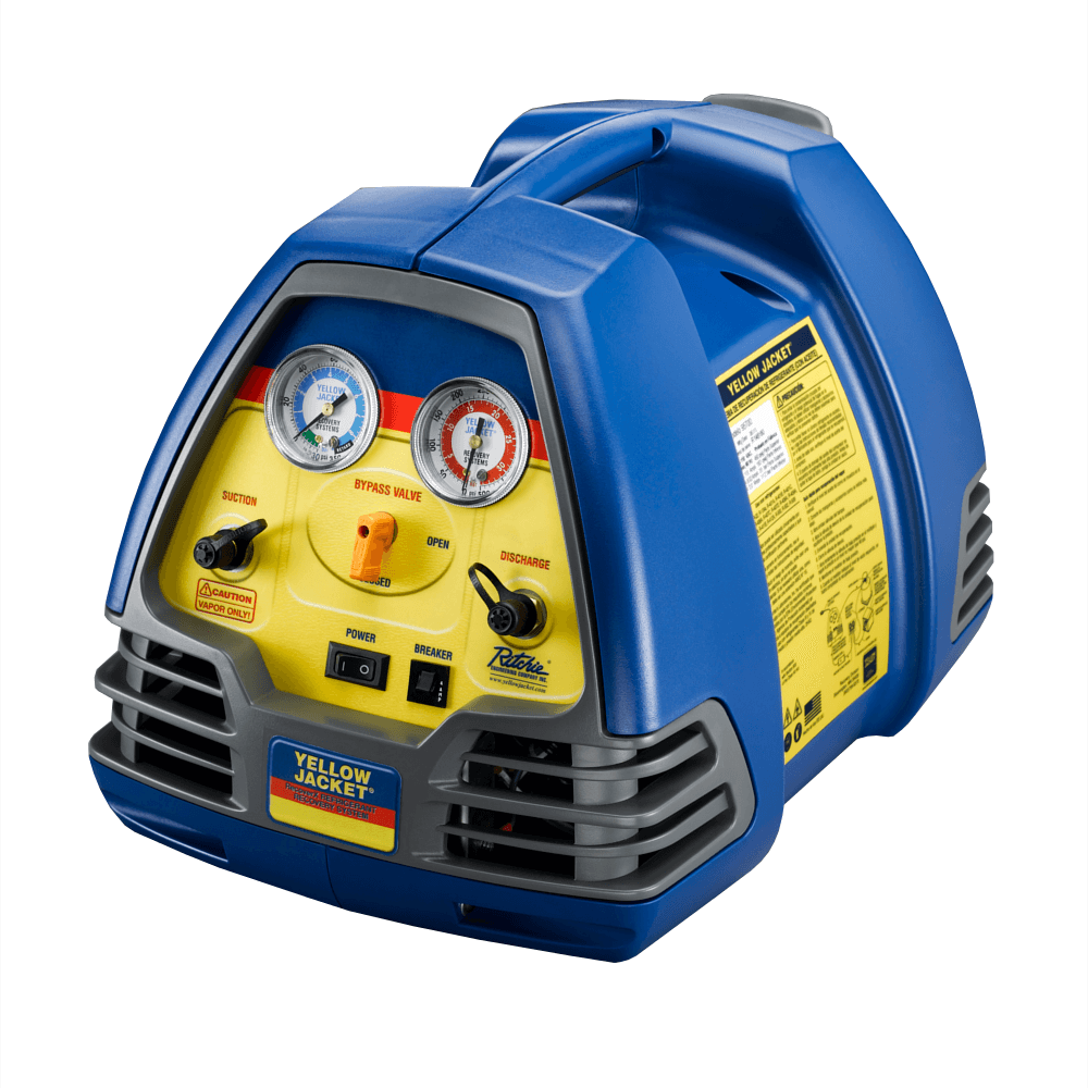 Yellow Jacket 95700 RecoverX HVAC Refrigerant Recovery Machine