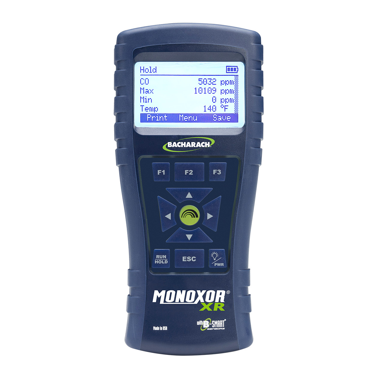 Bacharach Monoxor XR High CO Analyzer Reporting Kit 0019-8120
