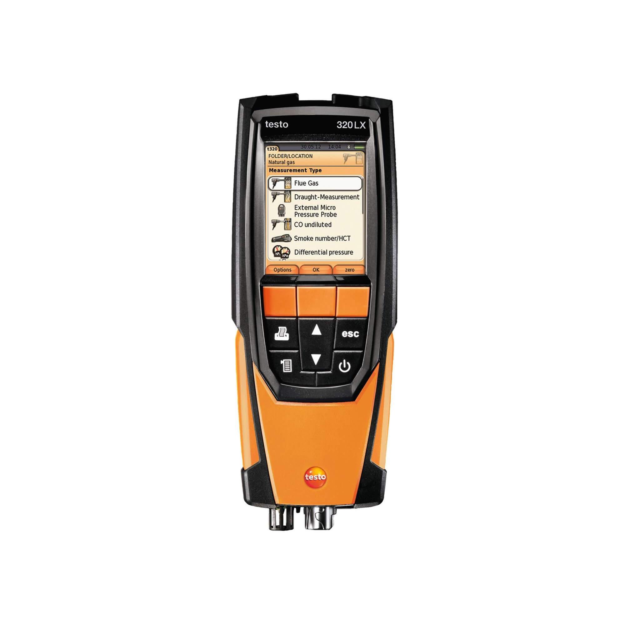 Testo 320 Combustion Analyzer 0563 3220 70 | ValueTesters com