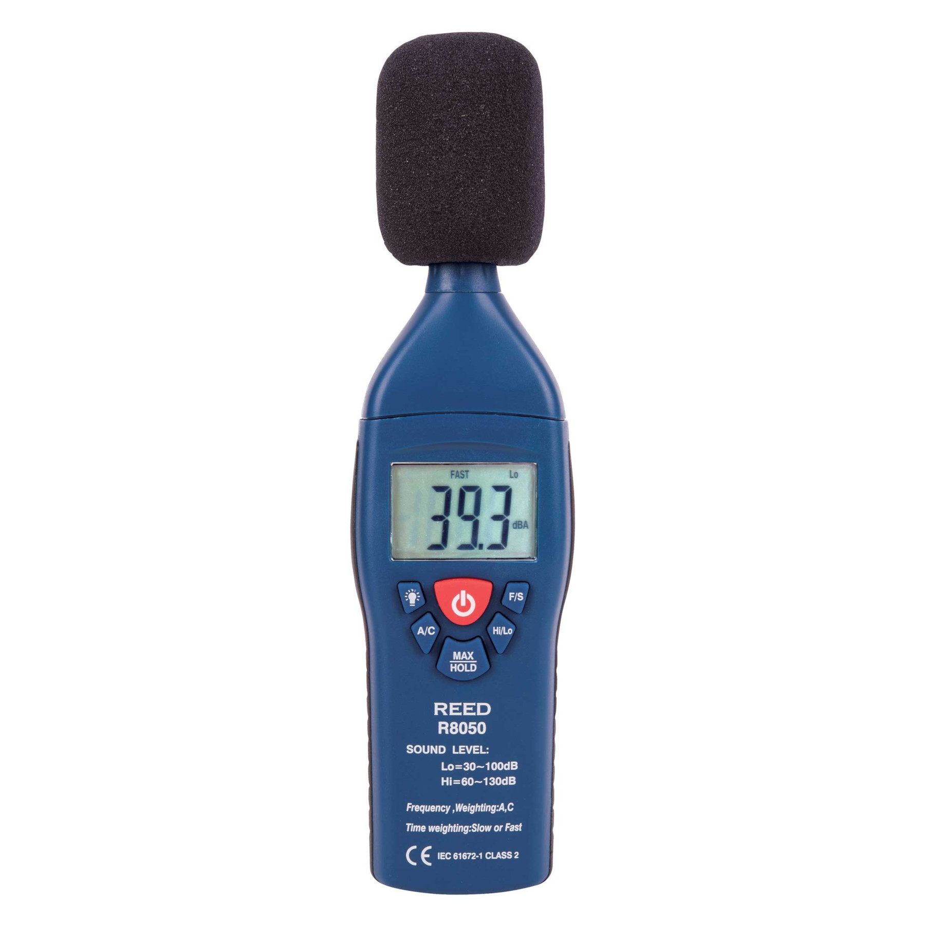 Reed Instruments R8050 Sound Level Meter Type 2
