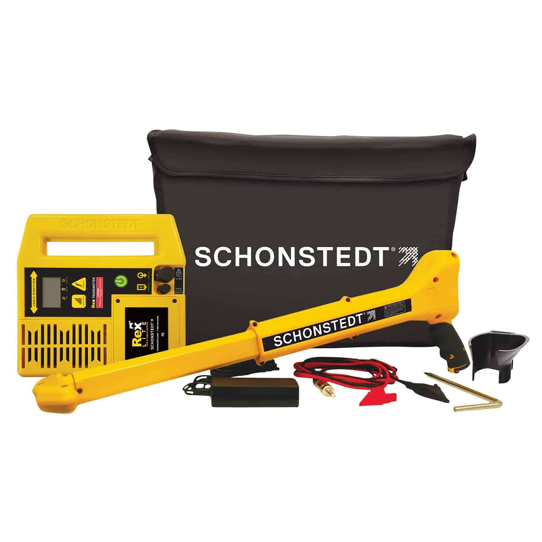 Schonstedt Rex-Lite REX-L33 Dual Frequency Pipe and Cable Locator for Electric and Telecom Cables