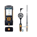 Testo 440 dP Air Flow Velocity IAQ Instrument ComboKit 1 with Bluetooth and Delta P 0563 4409