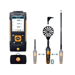 Testo 440 dP Air Flow Velocity IAQ Instrument ComboKit 2 with Bluetooth and Delta P 0563 4410
