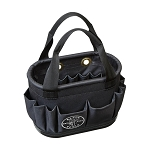 Klein Tools 5144BHB14OS Hard-Body Aerial Bucket Bag for Electricians